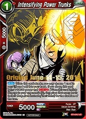 Intensifying Power Trunks (Event Pack 03 -  Origins Exclusive Gold Stamped) - BT4-012 - PR