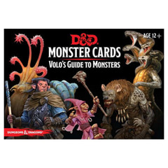 Dungeons & Dragons: Monster Cards - Volo's Guide to Monsters Card Deck