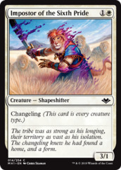 Impostor of the Sixth Pride - Foil