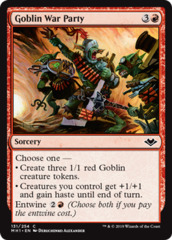 Goblin War Party - Foil