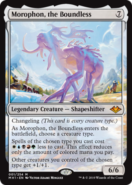 Morophon, the Boundless - Foil