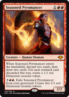 Seasoned Pyromancer - Foil