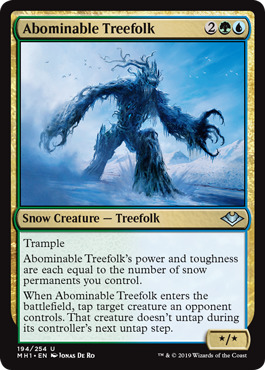 Abominable Treefolk - Foil