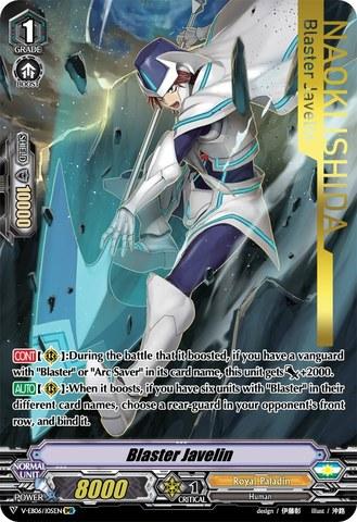 Blaster Javelin (Royal Paladin) - V-EB06/I05EN - IMR