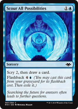 Scour All Possibilities - Foil