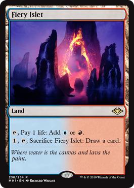 Fiery Islet - Foil