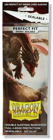 Dragon Shield Perfect Fit - Smoke Sealable (100)