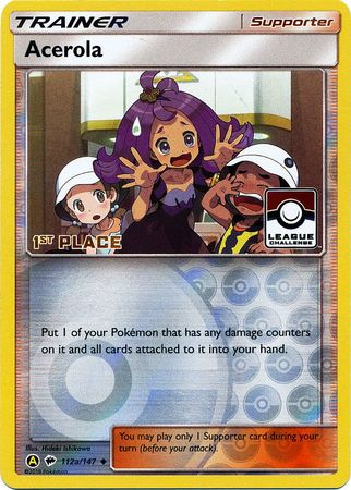 Acerola - 112a/147 - 1st Place League Promo