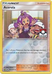 Acerola - 112a/147 - 4th Place League Promo