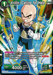 Krillin, Calling for Help - EX06-17 - EX