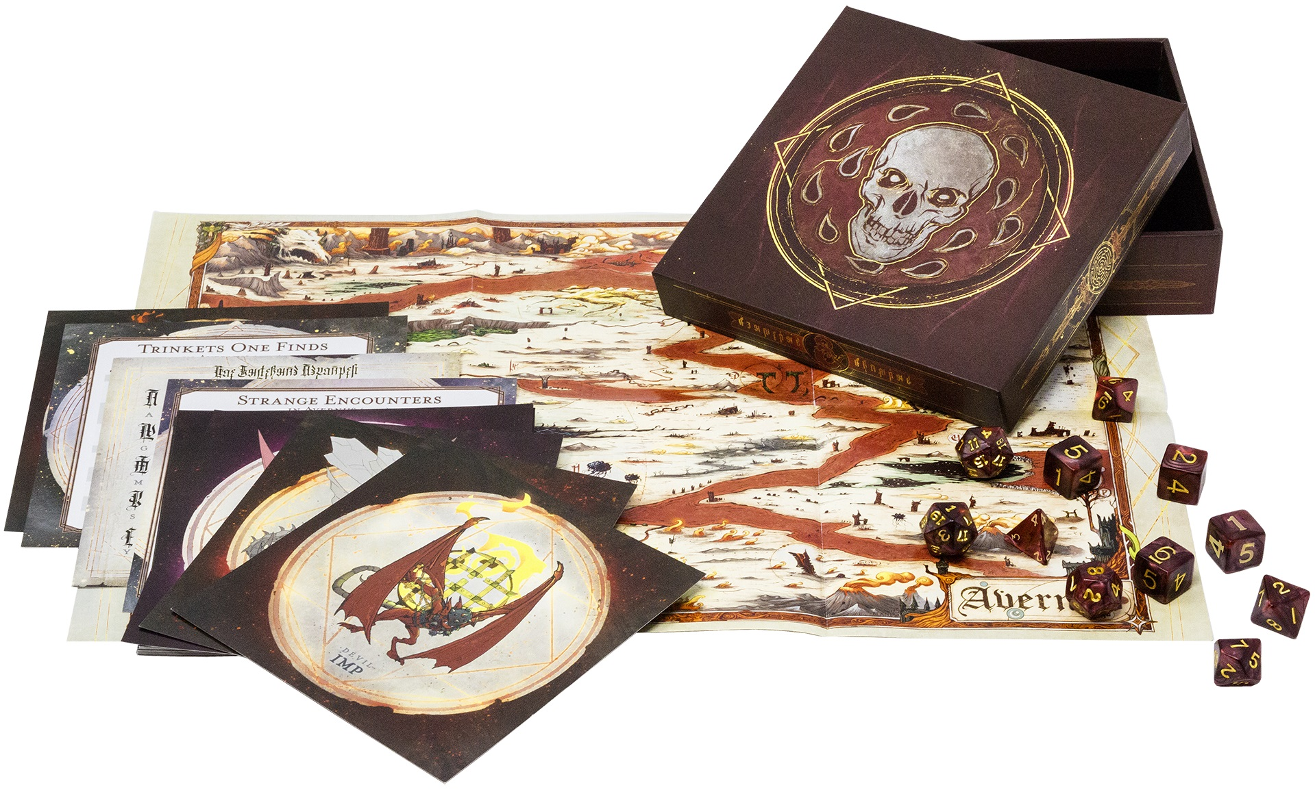 Baldur's Gate: Descent Into Avernus Dice Set