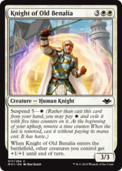 Knight of Old Benalia - Foil