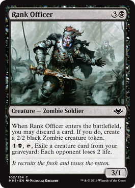 Rank Officer - Foil