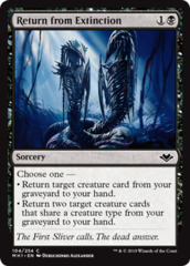 Return from Extinction - Foil