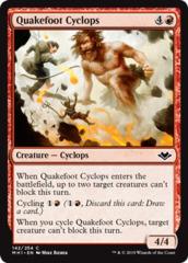 Quakefoot Cyclops - Foil