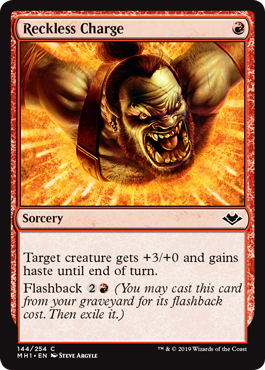 Reckless Charge - Foil