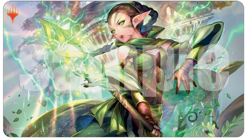 Ultra Pro MTG Play Mat: Japanese Anime Alt-Art War of the Spark - Nissa
