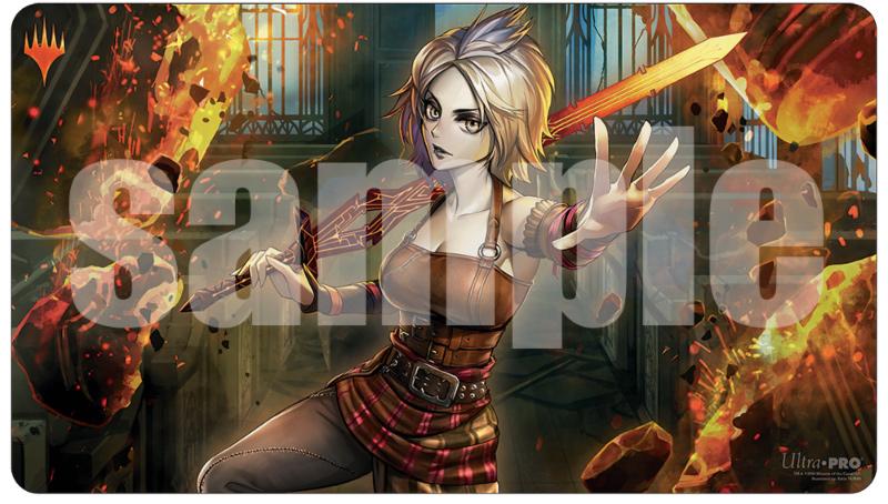 Ultra Pro MTG Play Mat: Japanese Anime Alt-Art War of the Spark - Nahiri