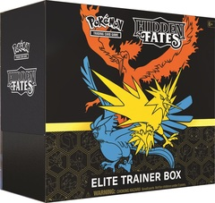Hidden Fates - Elite Trainer Box (Pre-Order - Limit 1 per person)