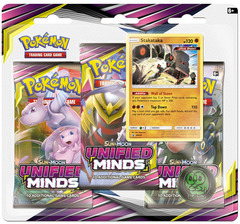 Sun & Moon - Unified Minds 3 Pack Blister