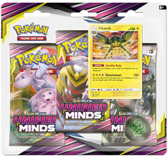 Sun & Moon - Unified Minds 3 Pack Blister - Vikavolt