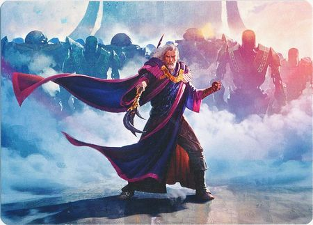 Urza, Lord High Artificer - Art Series