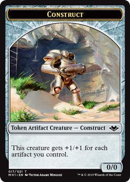 Construct Token - Foil
