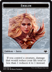 Emblem - Serra the Benevolent - Foil