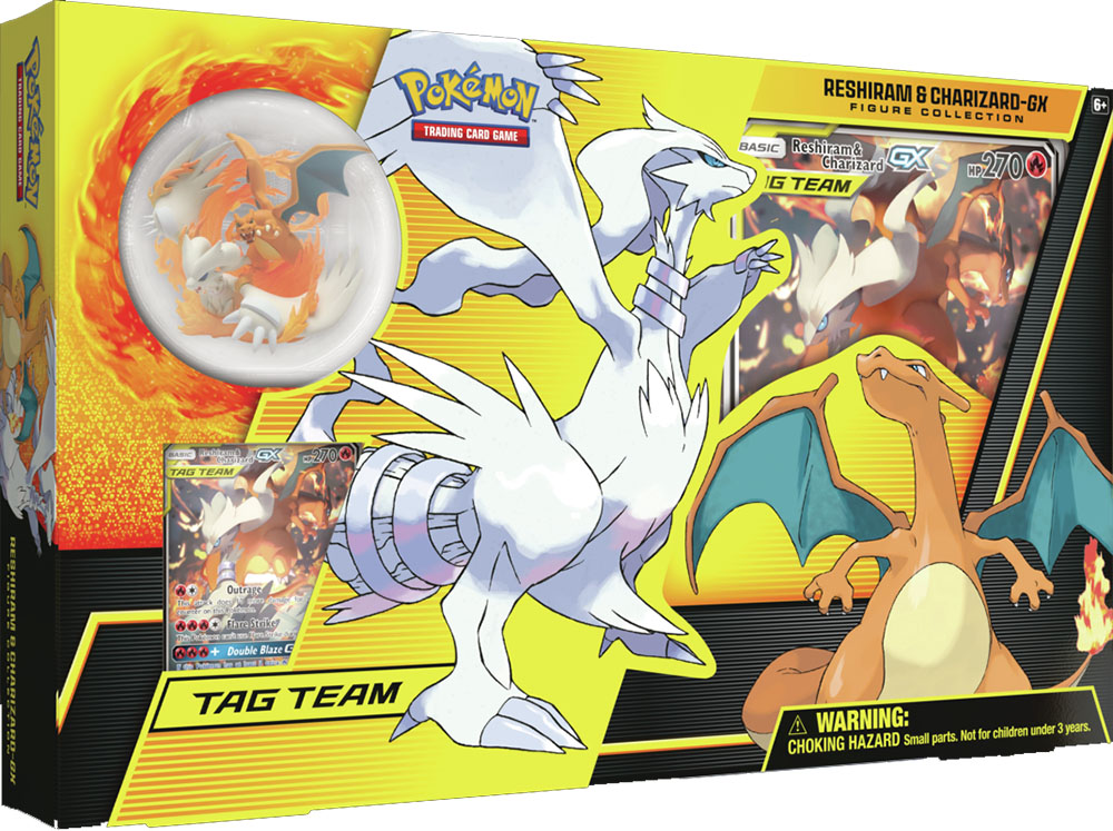 Reshiram & Charizard GX Figure Collection