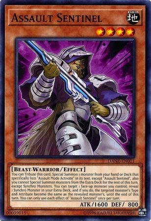 Assault Sentinel - DANE-EN011 - Common - Unlimited Edition