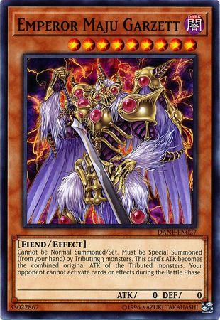 Emperor Maju Garzett - DANE-EN027 - Common - Unlimited Edition