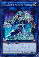 Mekk-Knight Crusadia Avramax - DANE-EN047 - Secret Rare - Unlimited Edition