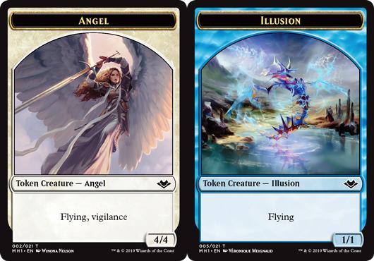 Angel Token // Illusion Token