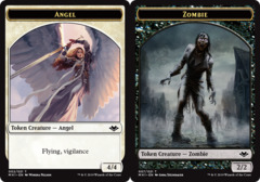 Angel Token // Zombie Token