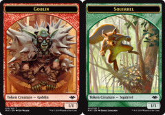 Goblin Token // Squirrel Token