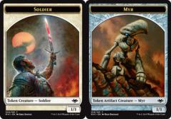 Soldier Token // Myr Token