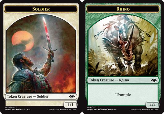 Soldier Token // Rhino Token