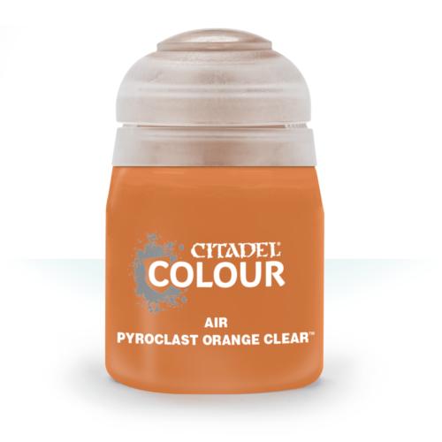 Air: Pyroclast Orange Clear (24ml)