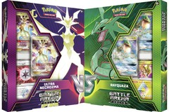 Pokemon Set of 2 Battle Arena Decks: Rayquaza-GX & Ultra Necrozma-GX