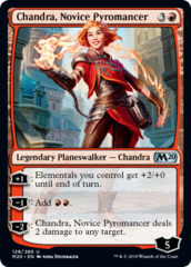 Chandra, Novice Pyromancer - Foil