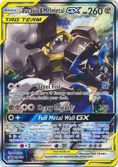 Lucario & Melmetal GX  - SM192 - SM Black Star Promos