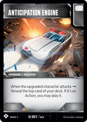 TRANSFORMERS TCG War For Cybertron Siege IR 055 Special Ops Mission card