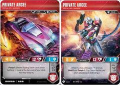 Private Arcee // Special Ops Warrior
