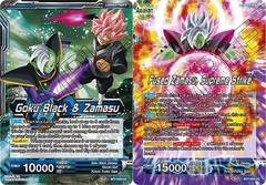 Goku Black & Zamasu // Fused Zamasu, Supreme Strike - BT7-026 - UC - Foil