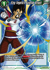 King Vegeta's Surprise Attack - BT1-079 - UC - Special Anniversary Box - Foil