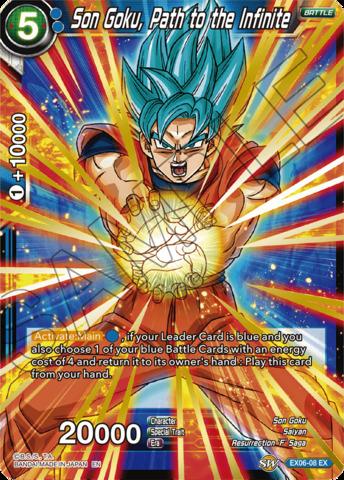 Son Goku, Path to the Infinite - EX06-08 - EX - Foil