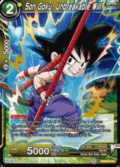 Son Goku, Unbreakable Will - EX06-23 - EX - Foil