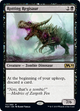 Rotting Regisaur - Foil