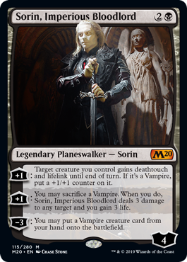 Sorin, Imperious Bloodlord - Foil
