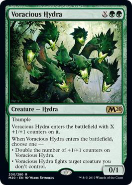 Voracious Hydra - Foil
